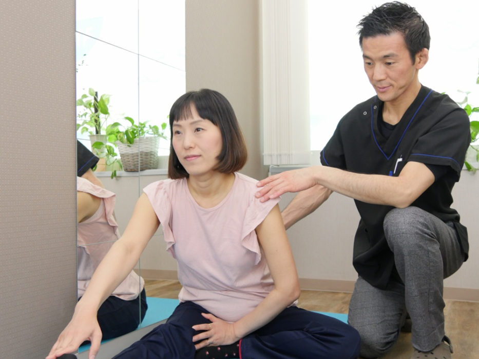 ホームエクササイズ指導