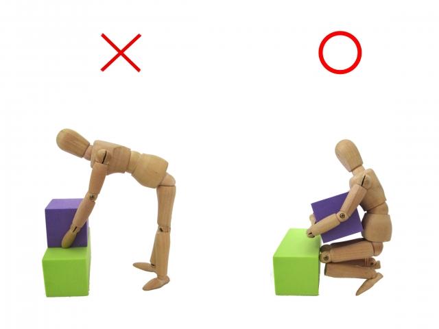 産後に気を付けるべき姿勢・動作
