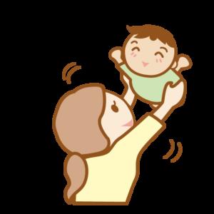 抱き上げる時の姿勢